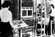 WAAFs tending to the Colossus codebreaking computer