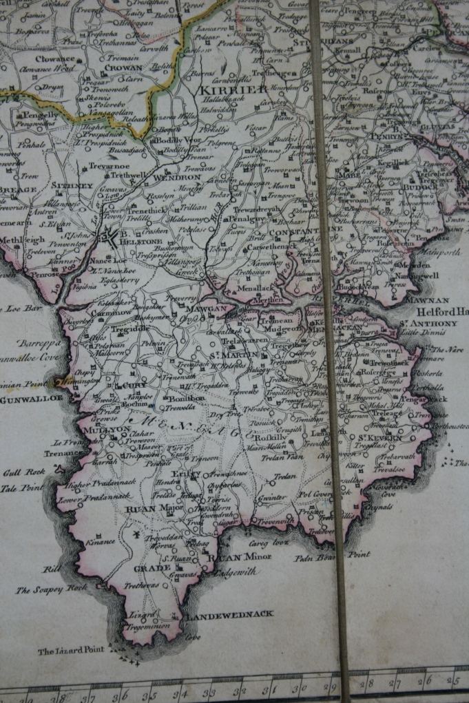 Gascoyne's map of 1699