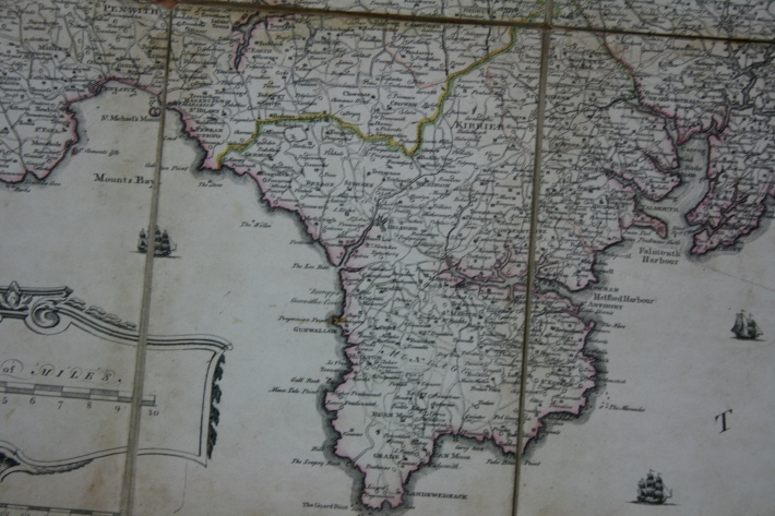 Martyn's Map of 1745